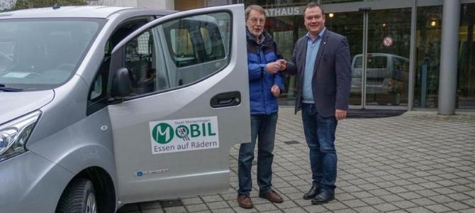 Stadt Meinerzhagen nimmt erstes Elektroauto in Betrieb
