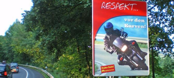 Nordhelle wird für Motorradfahrer gesperrt