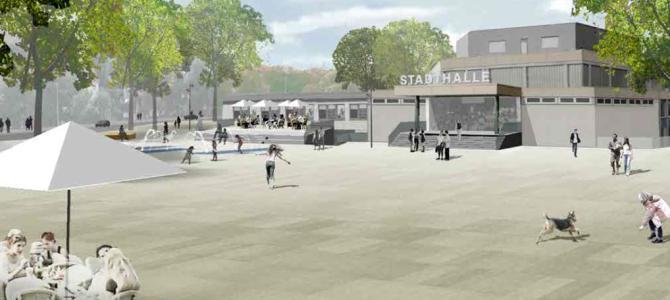 Stadtplatz: WM-Spiele auf großer Leinwand