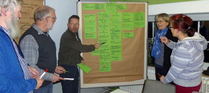 Brainstorming für den Klimaschutz