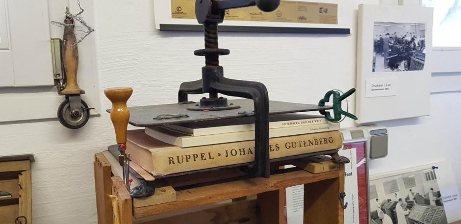 Museum Buchdruck, Bergneustadt © 2018 Foto: Stefanie Schildchen