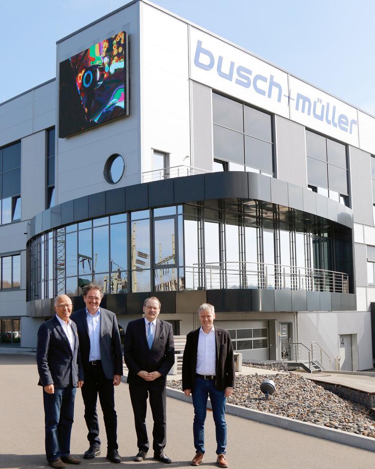 Fahrradbeleuchtung - Firma Busch und Müller, Meinerzhagen
