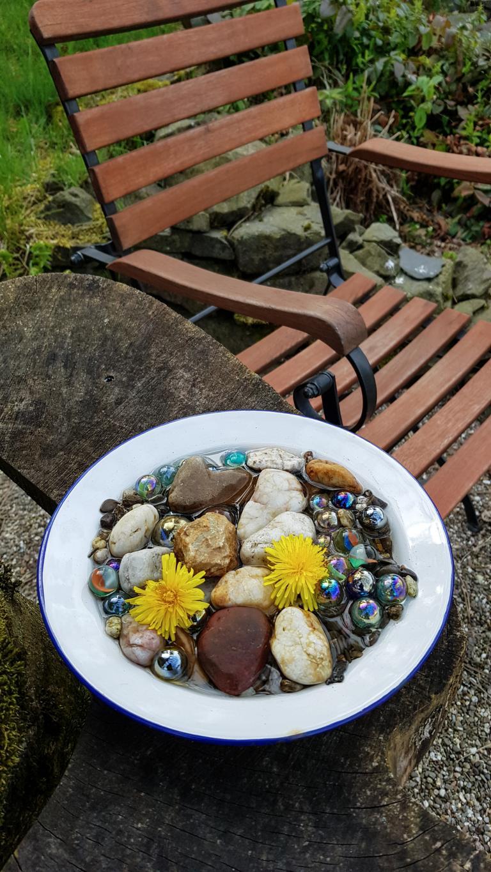 Wasserstelle für Insekten © Foto: Stefanie Schildchen