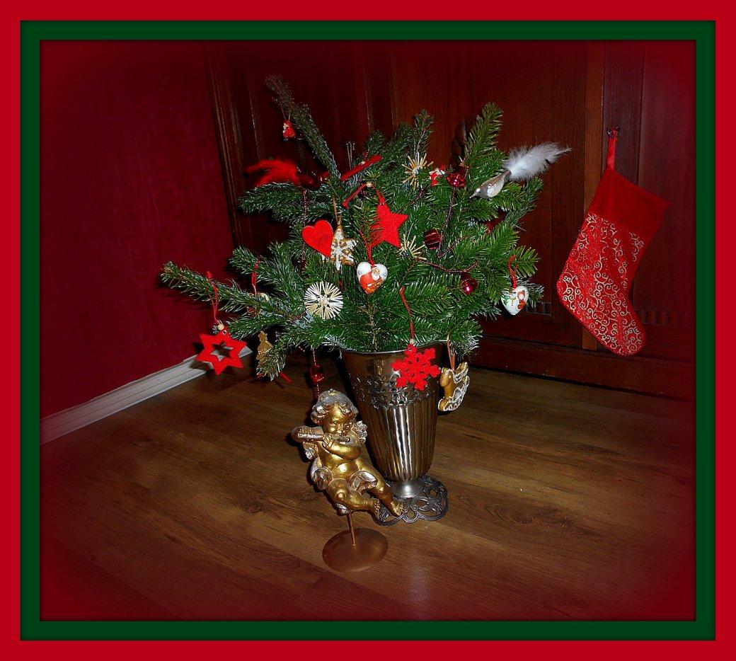 Weihnachten im Rahmen