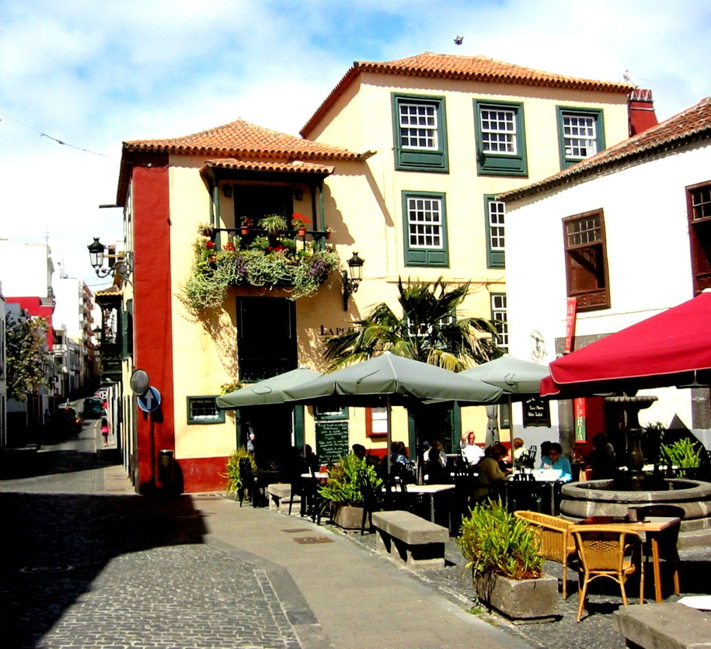 Cafe Puerto de la Cruz