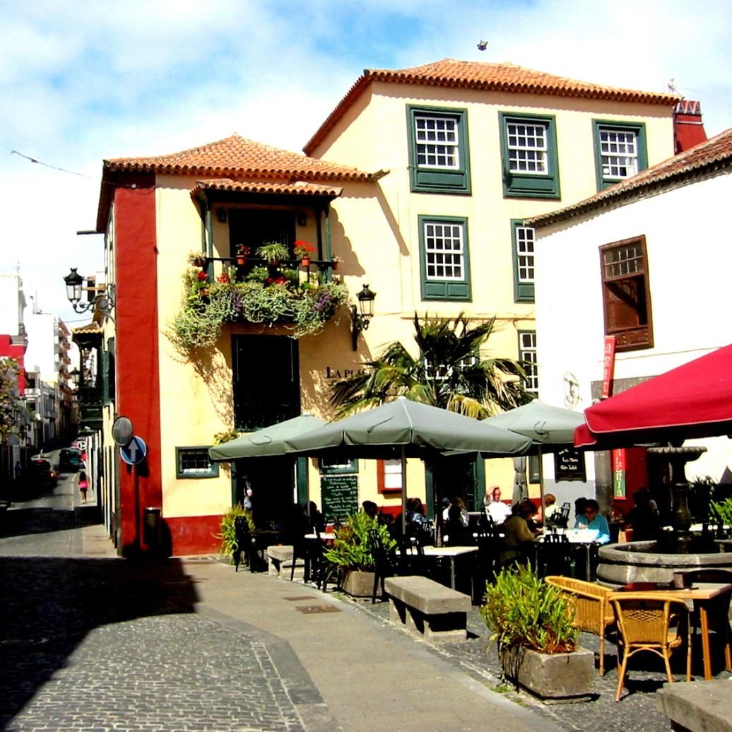 Cafe Puerto de la Cruz