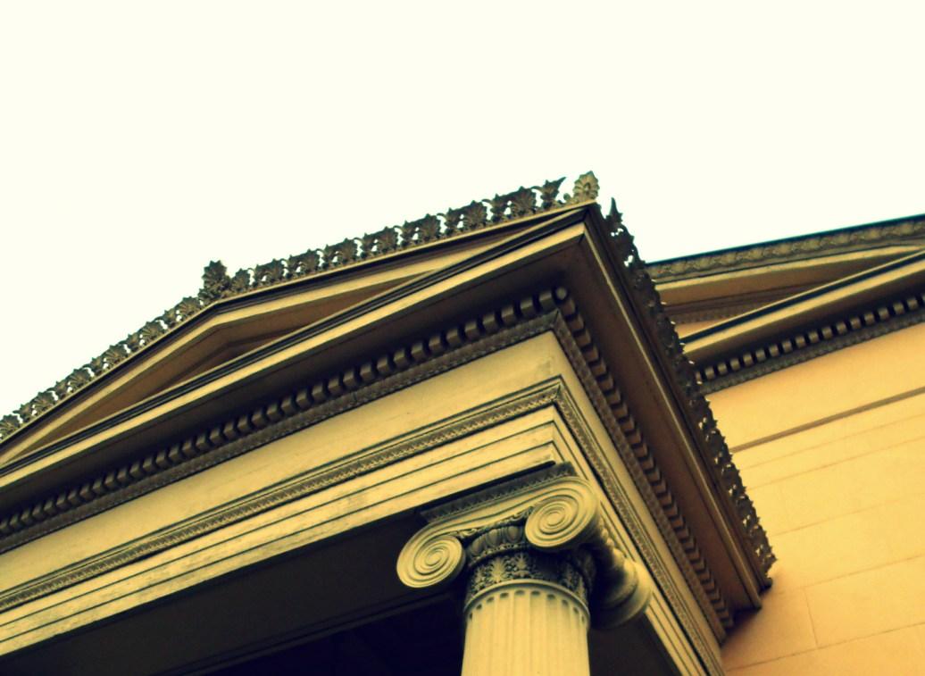 Kunstvolles Dach