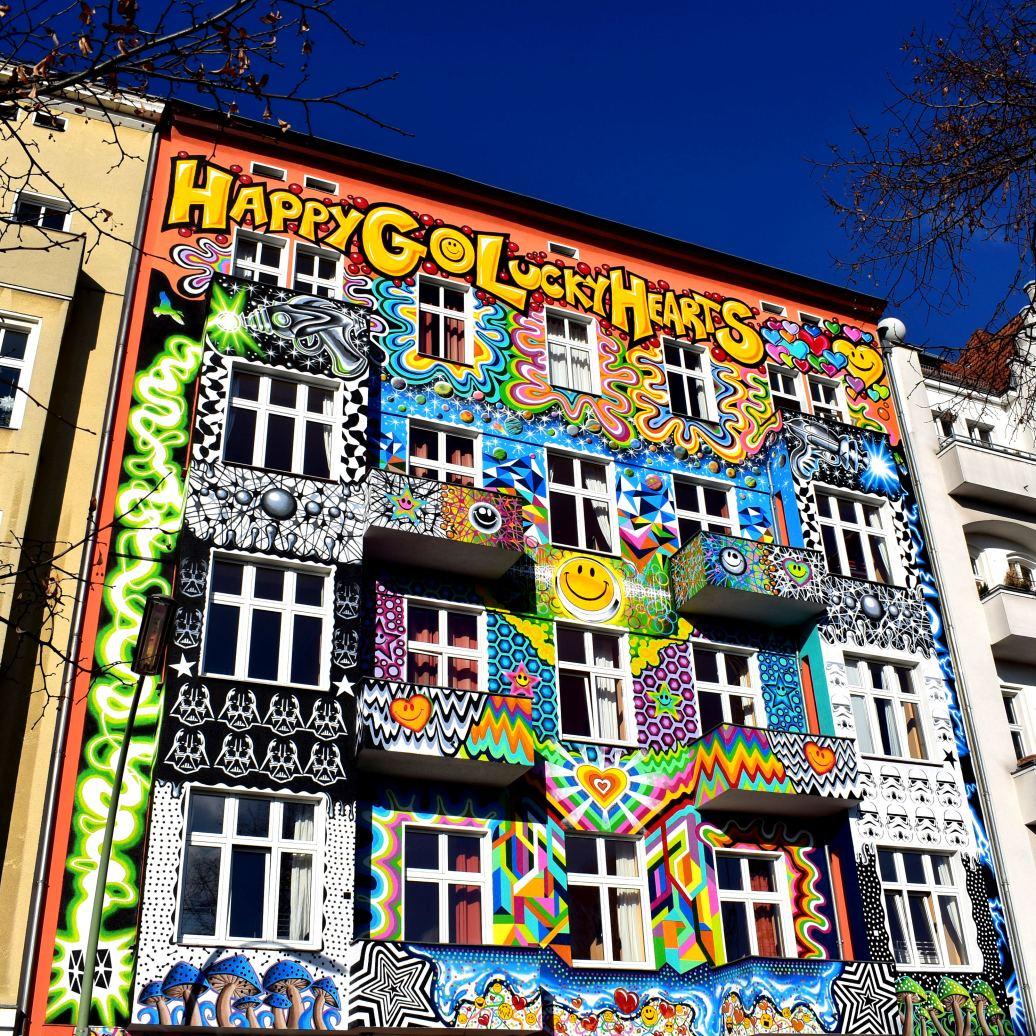 Bemalte Hausfassader Berlin Charlotteburg