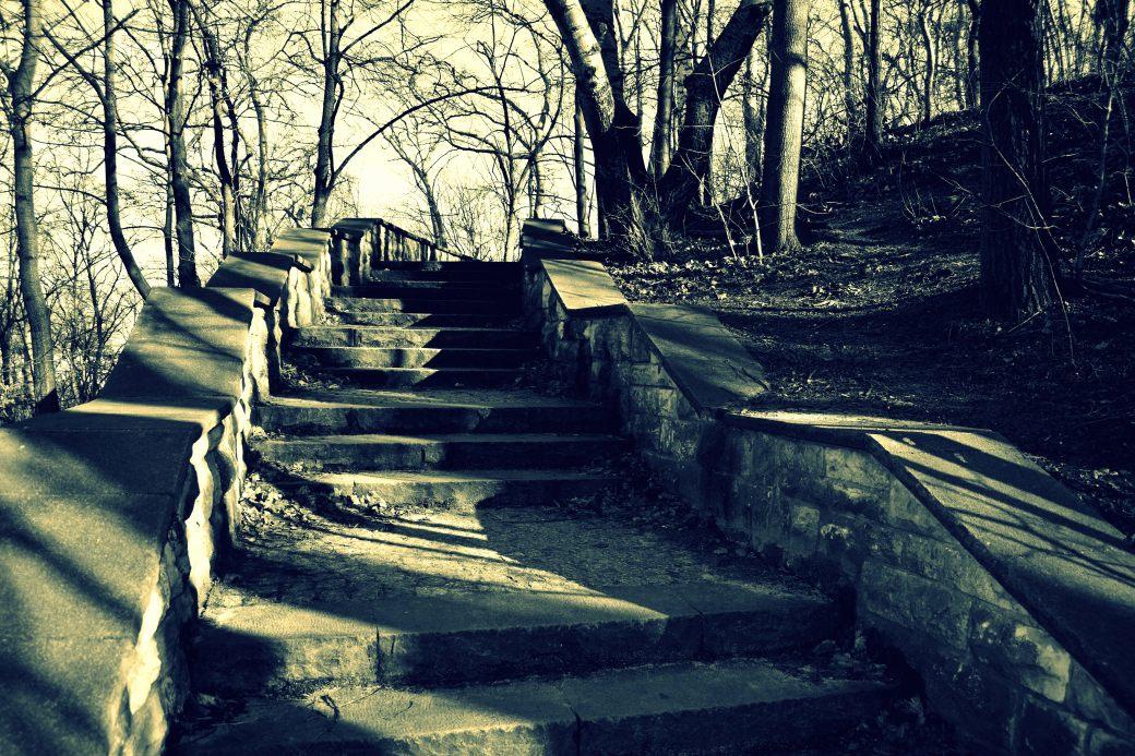 Treppe cross