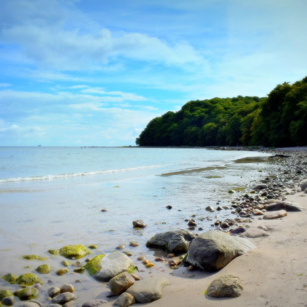 Strand mit Ausblick