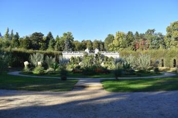 Gartenanlage im Park