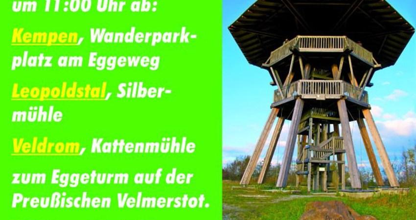 Plakat Sternwanderung Nationalpark