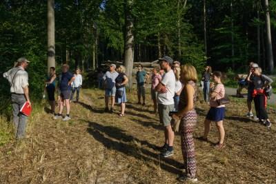 Klimakrise im Wald erkennbar , das erklärte Förster Meiercord