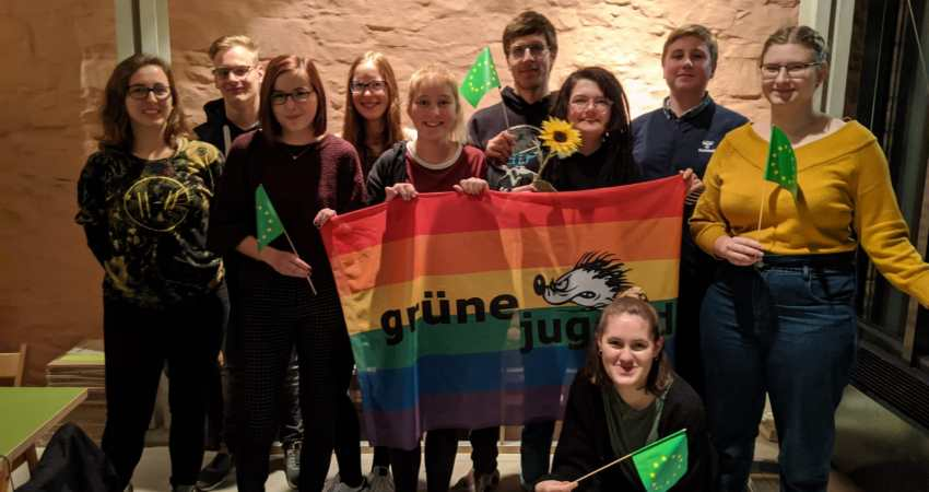 Grüne Jugend Lippe Reaktivierung 2019 Teilnehmer