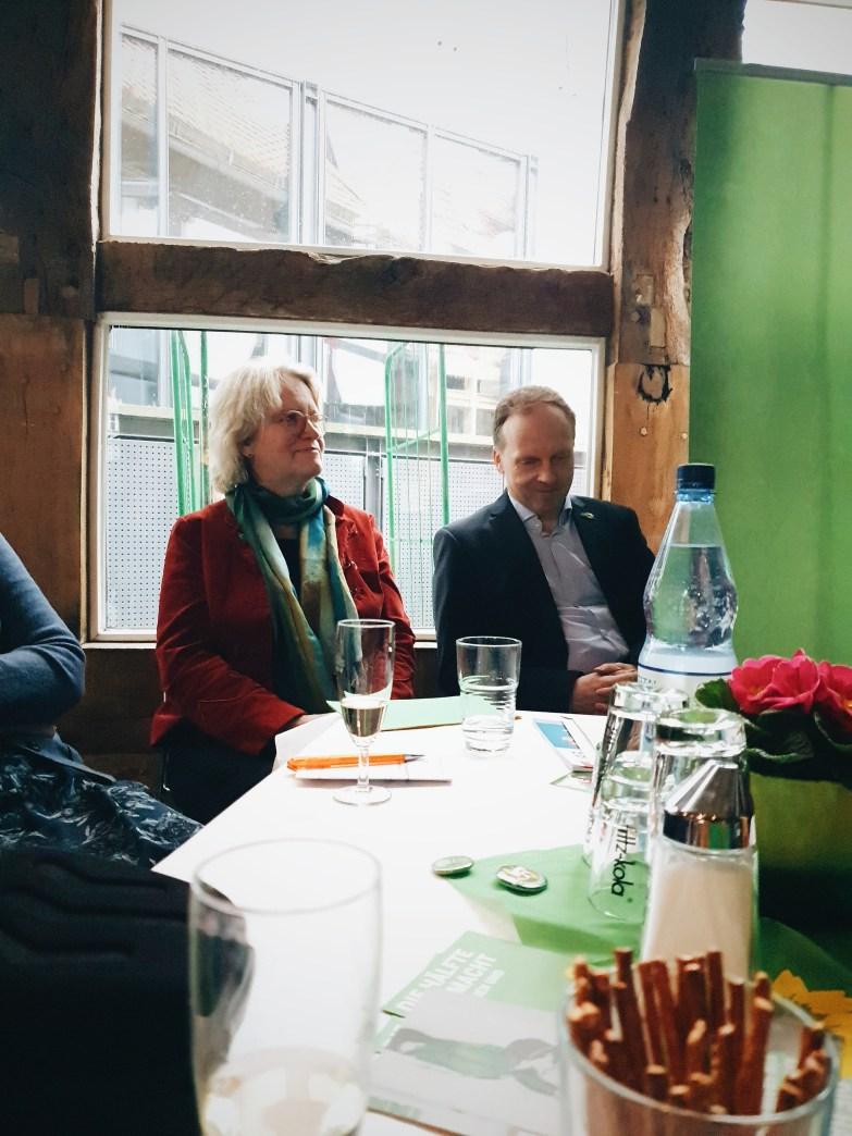 Katharina Kleine Vennekate beim Grünen Neujahrsempfang 2020