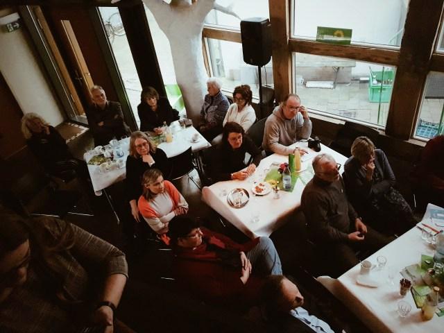 Zuhörer beim Grünen Neujahrsempfang Lemgo 2020