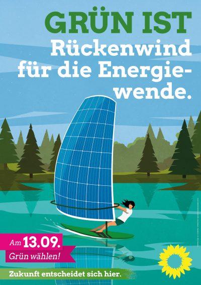 GRÜN IST Rückenwind für die Energiewende.