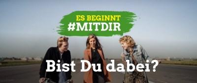 Es beginnt #MITDIR — Bist Du dabei?