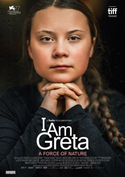 Kinoplakat I am Greta
