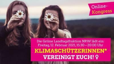 Klimaschützerinnen(w/d) vereinigt Euch