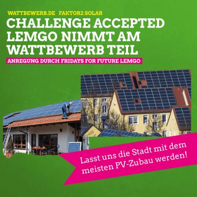 Beitragsbild: Lemgo nimmt am wattbewerb.de teil