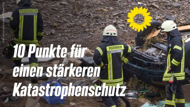 Beitragsbild 10 Punkte für einen stärkeren Katastrophenschutz