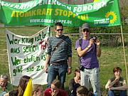 Grüne Jugend Lemgo bei Demo in Ahaus