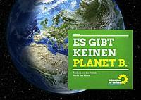 Plakat Ex gibt keinen Planet B