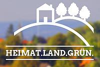 Plakat Heimat.Land.Grün