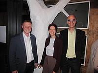 Torsten Buncher, Wiebke Brems und Dr. Burkhard Pohl
