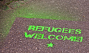 Fußmatte Refugees Welcome