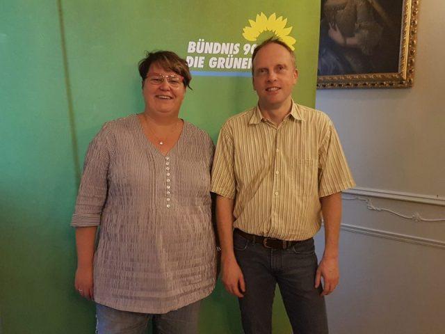 Tanja Kersting und Oliver Drexhage