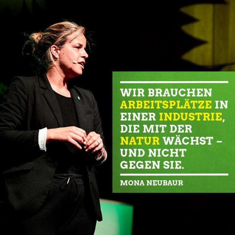 Mona Neubaur: Wir brauchen Arbeitsplätze in einer Industrie, die mit der Natur wächst — und nicht gegen sie.