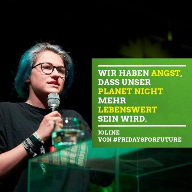 Joline (FFF Duisburg): Wir haben Angst, dass unser Planet nicht mehr lebenswert sein wird