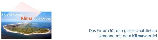 Wie soll unsere Gesellschaft mit dem Klimawandel umgehen? Die Spiekerooger Klimagespräche suchen nach Ideen (Screenshot: www.spiekerooger-klimagespraeche.de)
