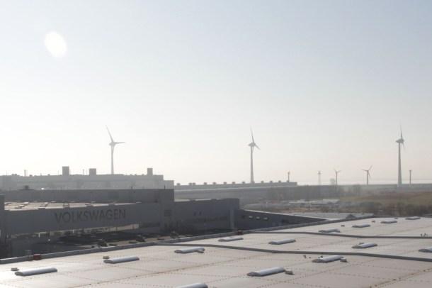 Windkraftanlagen am VW-Standort Emden