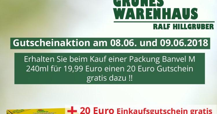 [abgelaufen]Große Gutscheinaktion am 08.06. und 09.06.