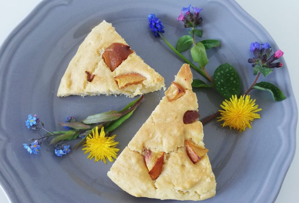 Vanille-Nektarine-Kuchen