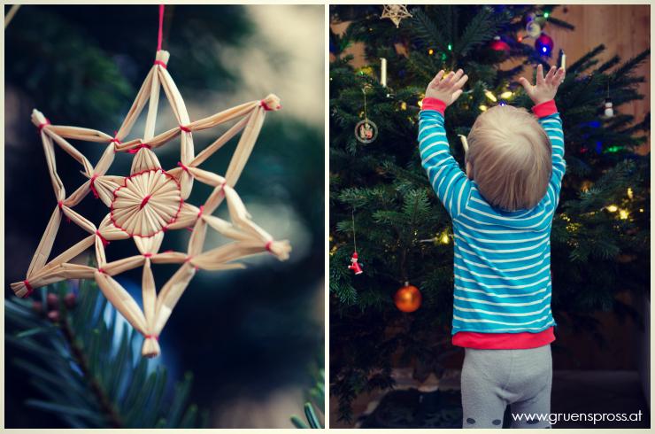 Weihnachtsbaum anbeten