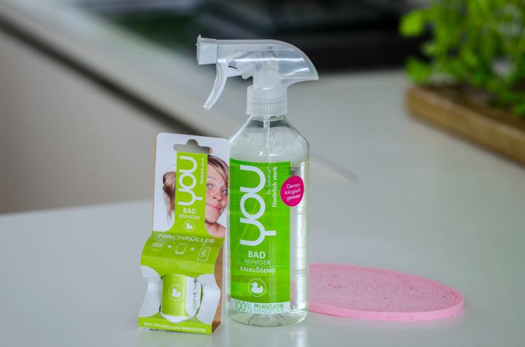 Nachhaltige Reinigungsmittel von YOU - Badreiniger