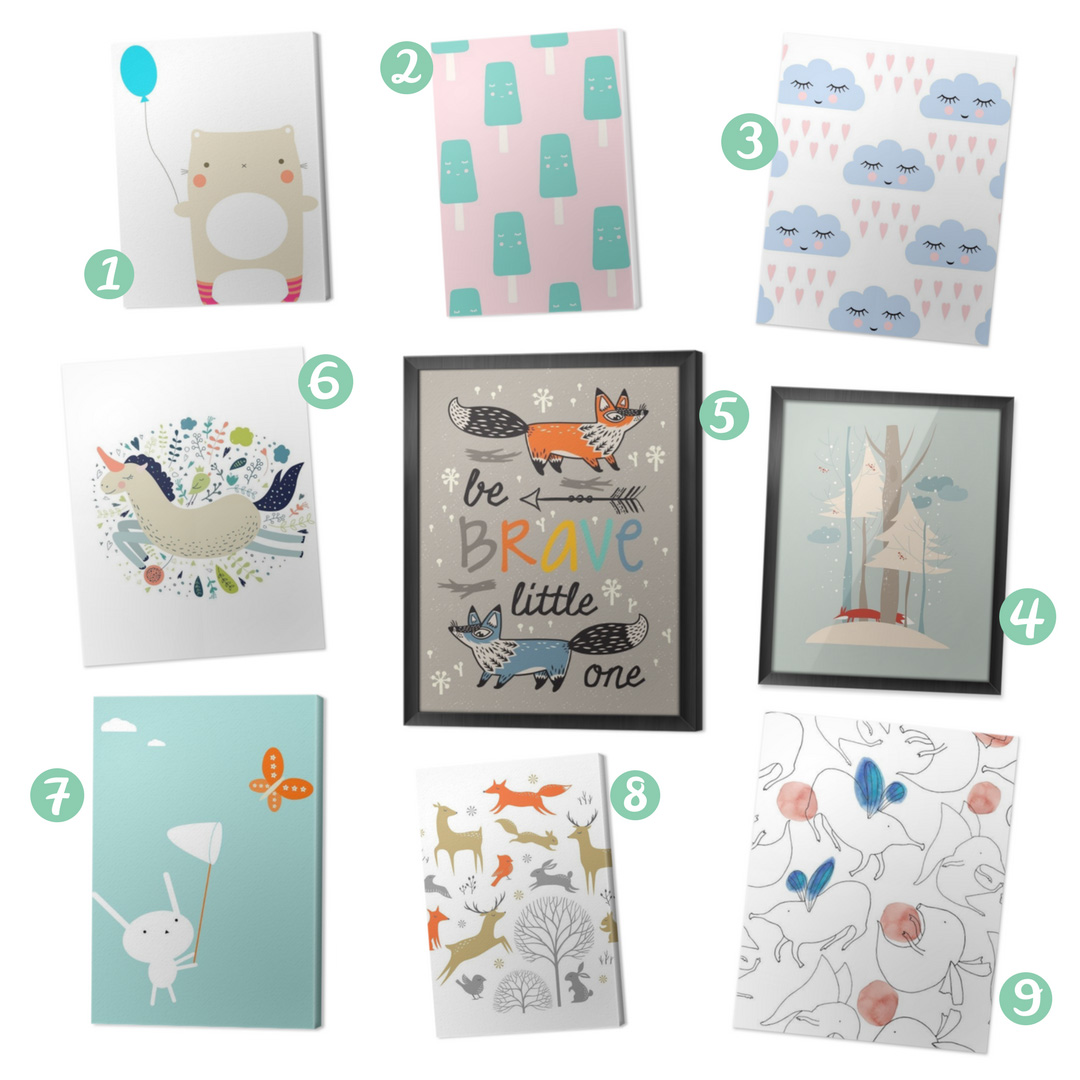 Inspiration - Bilder fürs Babyzimmer
