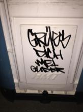 GDMG Dixie. Kunst und so - Grüß dich mei Guder. Street Art. Graffiti Coburg. JDE TDN CSW GDMG!
