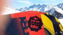 Snowboard, Berge, Grüß Dich Mei Guder!
