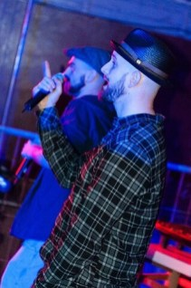 Cane am Mic. Company Slow live im Cafe Q. Indoor Skateramp. Cafe Q. Live Rap Coburg.