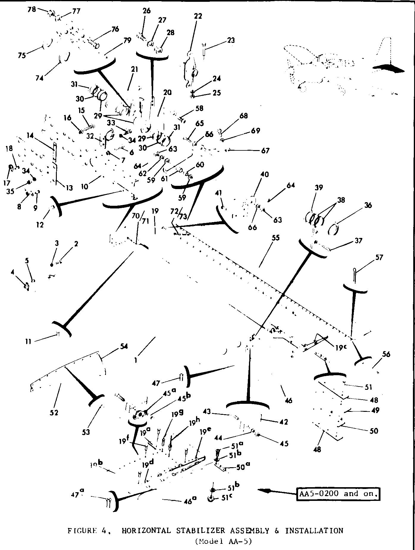 Parts-Diagram-Figure-4-Horizontal-Stabilizer-Model-AA5