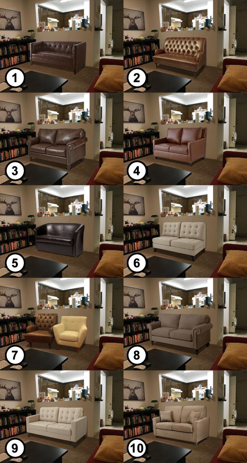10 loveseat choices