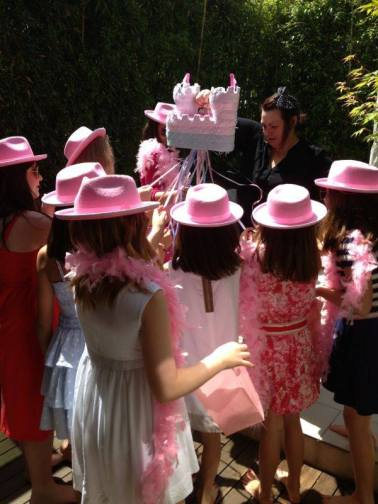 outdoor garden princess parties London