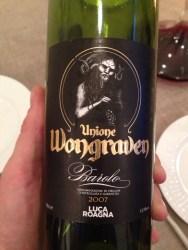 En super barolo fra Satyricon's vokalist Sigurd Wongraven. Anbefales!