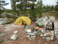 Ypperlig MSR HUBBA HUBBA 2 manns telt. Veier under 2 kg.