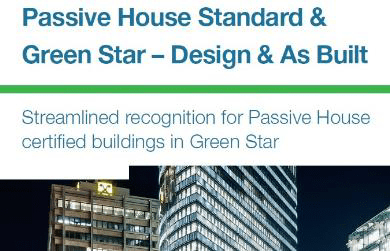Passive House Standard and Green Star - Design & As Built